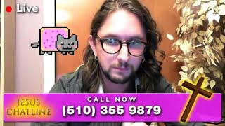 Jesus Chatline - 4chan TROLLS CALLING IN