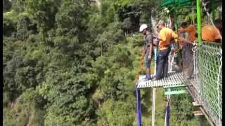preview picture of video 'My First Time Bungy Jump at The Last Resort, Nepal'