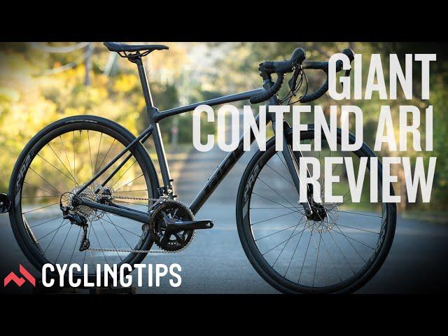 Видео Велосипед Giant Contend AR 1 Gunmetal Black