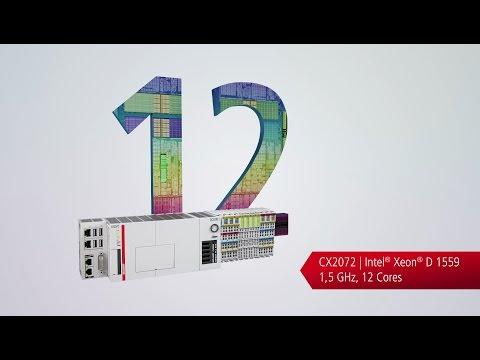 Embedded-PC CX20x2: 12 Kerne auf der Hutschiene