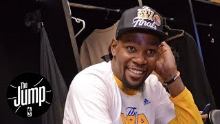 Kevin Durant The Vegas Favorite For NBA Finals MVP | The Jump | ESPN
