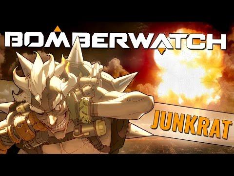 BOMBOVÉ ŠÍLENSTVÍ (Junkrat gameplay) | Overwatch [CZ|Česky]