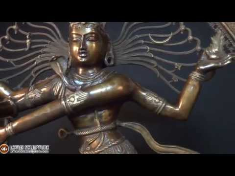 Brass Large Dancing Shiva Nataraja 73