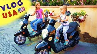 ЛУЧШИЙ Парк Развлечений для Детей ГОЛЛИВУД Funny Kids in real life VLOG Playground Hollywood
