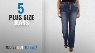 Wallflower Jeans Plus Size Jeans [2018]: WallFlower Plus Size Luscious Curvy Basic Bootcut Jeans In