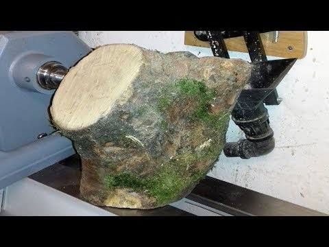 Woodturning: A Sycamore Crotch Bowl