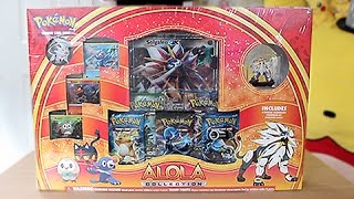 Opening A Pokemon Sun Alola Collection Box!