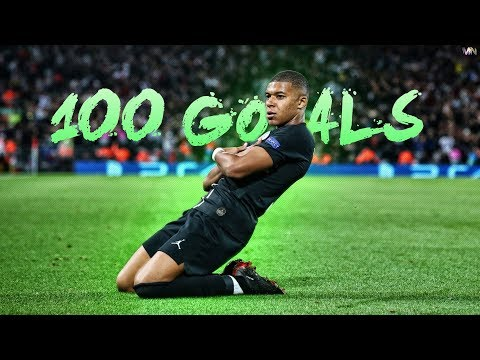 Kylian Mbappé – All 100 Career Goals