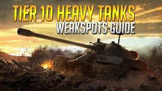 World Of Tanks - All Tier 10 Heavy Tank Weakspots