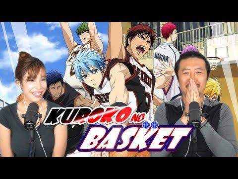 KUROKO NO BASKET EPISODE 1 BLIND REACTION + REVIEW!