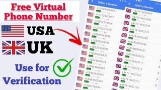 How to Get Free Virtual Phone Number for Verification 2021 || How to Get a free Phone Number
