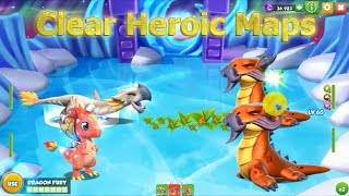 Clear Map 99 Heroic - Dragon Mania Legends