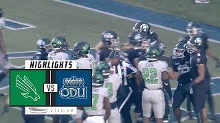 Gambar cover North Texas vs. Old Dominion Football Highlights (2018)   Stadium
