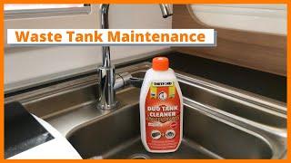 Motorhome Maintenance : How to clean waste tanks