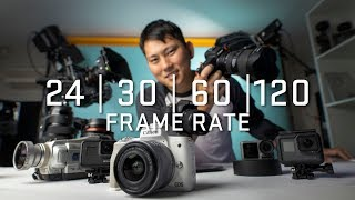What Frame Rate Should You Be Filming In?