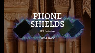 Shungite Orgonite for protection: Cell Phone Shields (Research Series - The Science of Orgone)