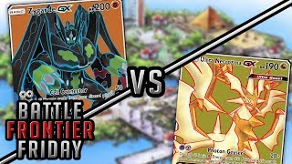 Ultra Necrozma GX vs Zygarde GX Pokemon TCG Matchup   Battle Frontier Friday #48