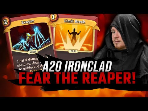 Fear the Reaper! | Ascension 20 Ironclad Run | Slay the Spire