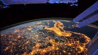Космос 2018 Планета Земля, вид из космоса  Невероятные кадры, снятые с борта МКС
