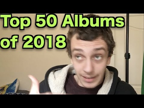 Top 50 Albums of 2018