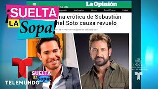 Gabriel Soto y Sebastian Rulli realizan escena 'hot' | Suelta La Sopa | Entretenimiento