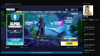 Fortnite gameplay with niklas brumbagh new event loot lake island