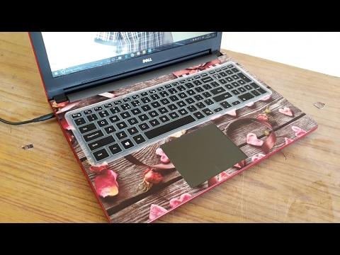 Laptop Skin | Skin installation on palmrest of laptop |make your lappy beautifull | from amazon 2019