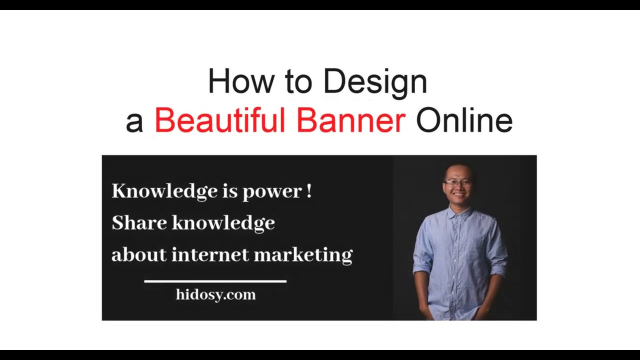 How to Design Beautiful Banner Online in 2 Minutes