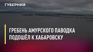 Гребень амурского паводка подошёл к Хабаровску. 09.07.2021 Губерния