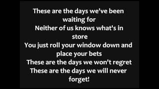 Avicii   The Days Lyrics