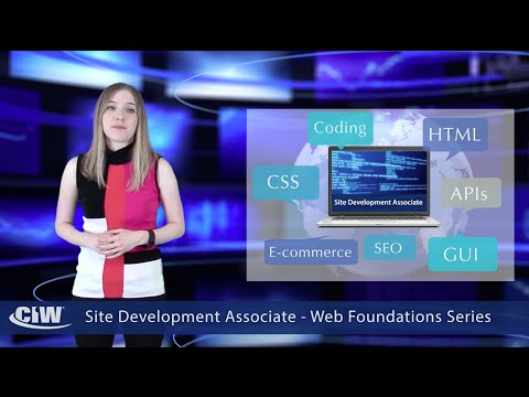 Site Development Associate - The CIW Web Foundations Series ...