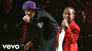 Justin Bieber   Never Say Never Ft. Jaden Smith (Live)