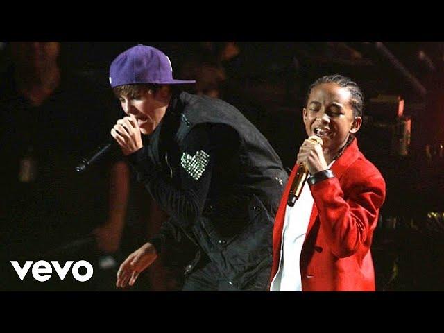 Justin Bieber - Never Say Never ft. Jaden Smith (Live)