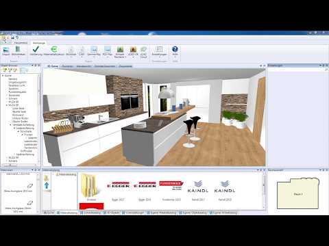 xCAD 3D Raumplaner   Workshop einer Küchenplanung