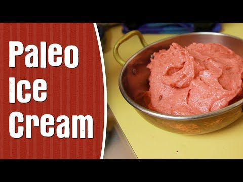 Video How To Make Ice Cream — Paleo Snacks & Recipes — Dairy-Free, Vegan Ice Cream