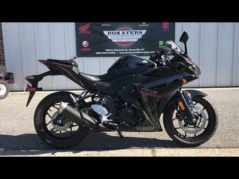 2018 Yamaha YZF-R3 ABS in Greenville, North Carolina - Video 1