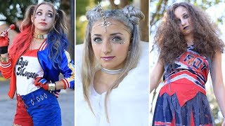 3 Easy HALLOWEEN Hairstyles | DIY Hairstyles Compilation 2019