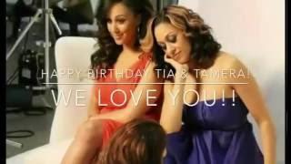Tia & Tamera's 38th Birthday Video! ✨