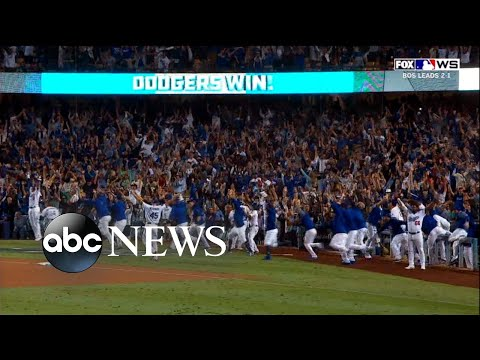 Red Sox and Dodgers play longest game in World Series history