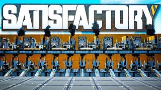 Gigantic Iron And Steel Processing Factory Is Gigantic in Satisfactory