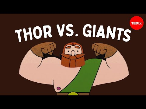 The myth of Thor's journey to the land of giants – Scott A. Mellor