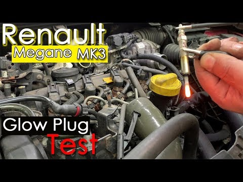 Renault Megane - Injection light on  Fault code P0380