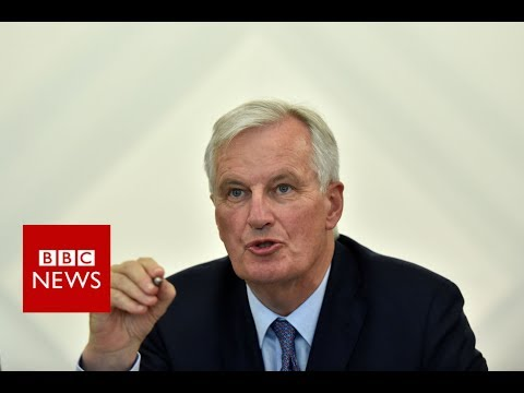 """BREXIT Negotiations: Barnier: """"I'm not hearing any whistling..just the clock ticking""""  – BBC News"""