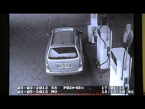 Dreister Benzindieb an Tankstelle erwischt