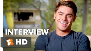 Mike And Dave Need Wedding Dates Interview  Zac Efron 2016  Comedy