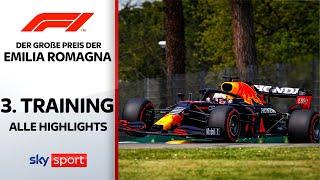 Verstappen siegt trotz Schreckmoment | 3. Freies Training - Highlights | Emilia Romagna | Formel 1