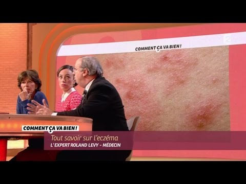 Le psoriasis de la photo sur le cou de la photo