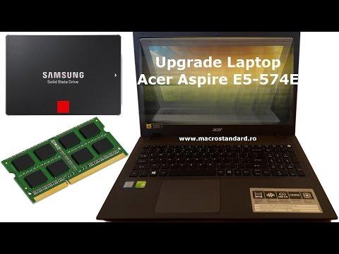 Upgrade laptop Acer Aspire E15 E5-574G-774E