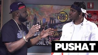 Funk Flex - Pusha Breaks It All Down with Funk Flex in #WeGotaStoryToTell017