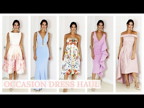 OCCASSION DRESS TRY ON HAUL - HOUSE OF CB, CHI CHI, ASOS | Beauty's Big Sister